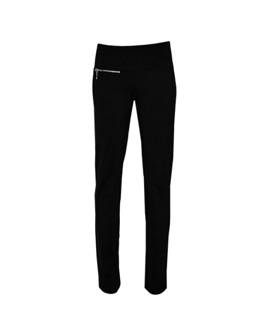 Long Pants with Front Zipper Pocket
