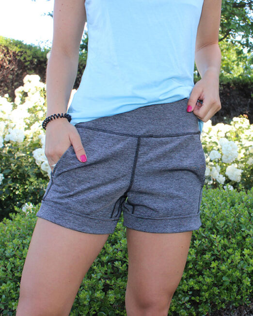 BPassionit-Model-in-Heather-Grey-Shorts