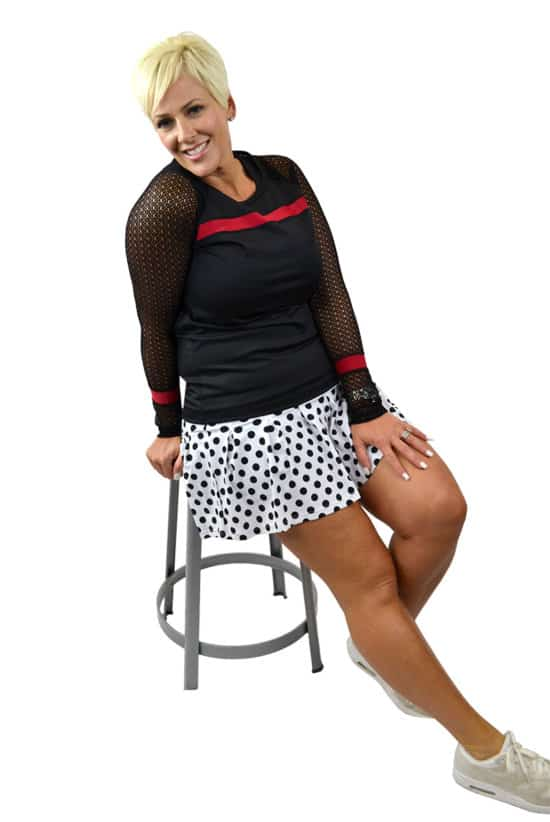 Model-in-BPassionit-Eclipse-Long-Sleeve-Top-Tennis-Skirt-2
