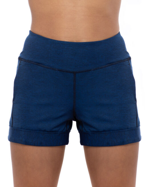 BPassionit-Shorts-with-Pockets-Heather-Navy