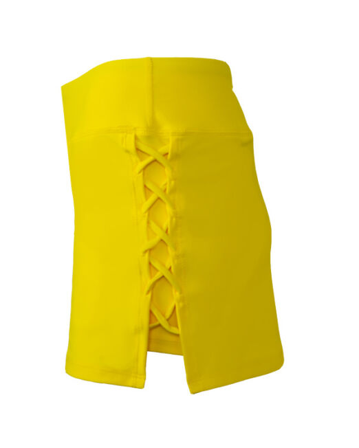 BPassionit-Womens-Criss-Cross-Tennis-Skirt-Bright-Yellow-Side-WEB-2