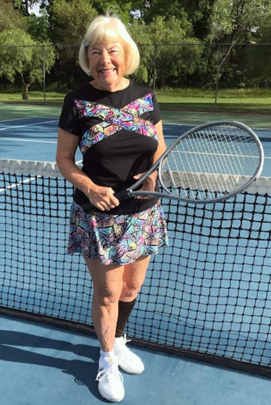 Marty Holmes in BPassionit Tennis and Activewear
