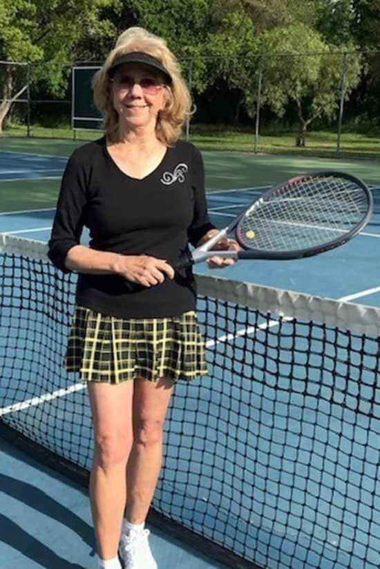 Terrie O-Donnell in BPassionit Tennis and Activewear
