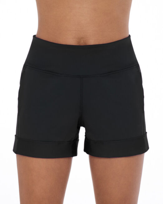 BPassionit-Shorts-with-Pockets-Black